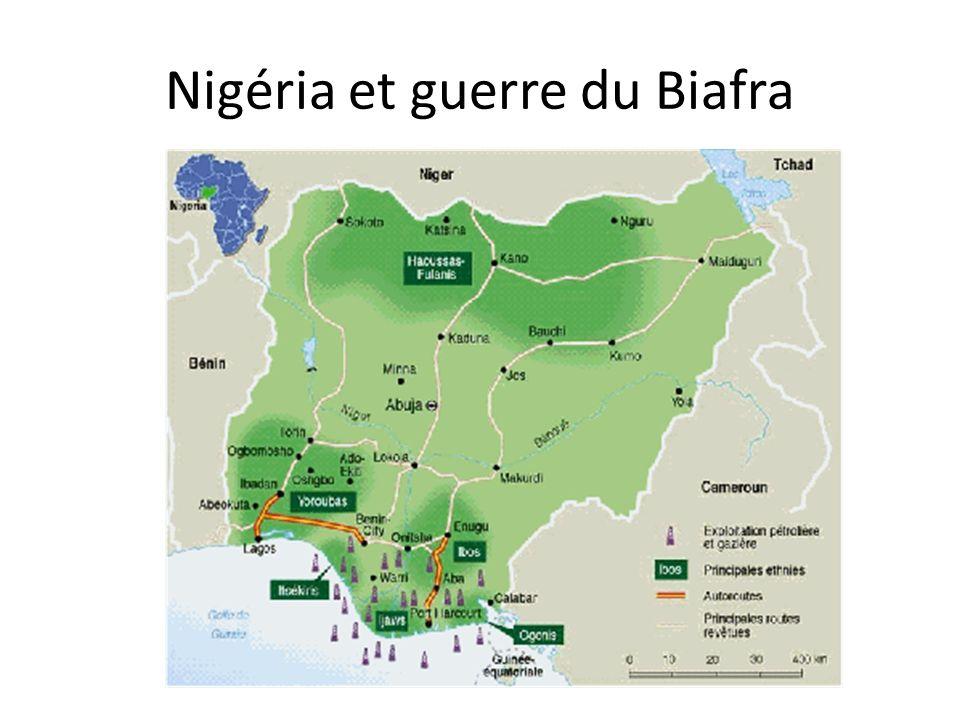 Nigéria et guerre du Biafra