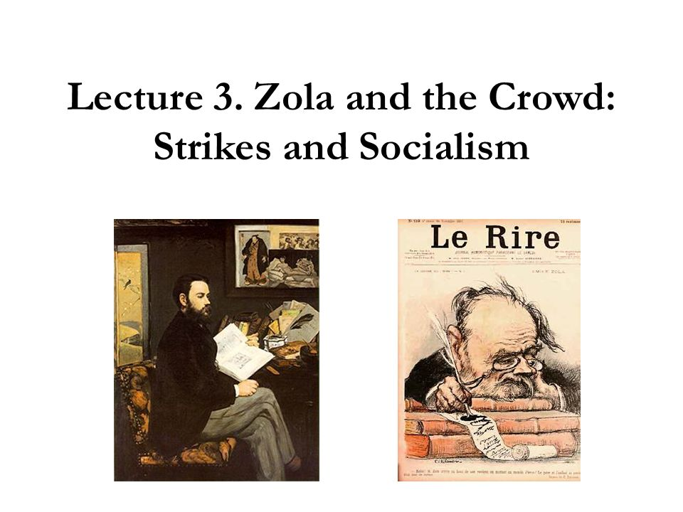 Lecture plan I.Z OLA, E CRIVAIN ENGAGÉ Biography Political and literary engagement II.