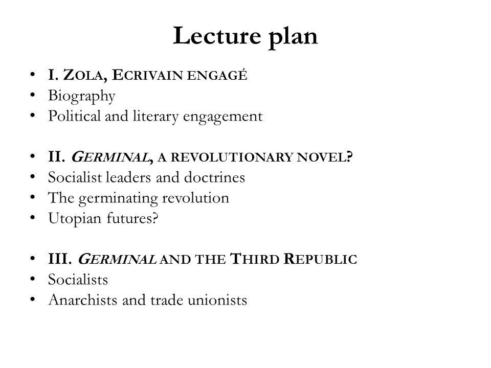 Henri Mitterand on Zola « La grandeur de Zola tient au fait que son œuvre littéraire est une œuvre politique, même quand il ne la pas voulu, et que son œuvre politique est toujours restée littéraire…»