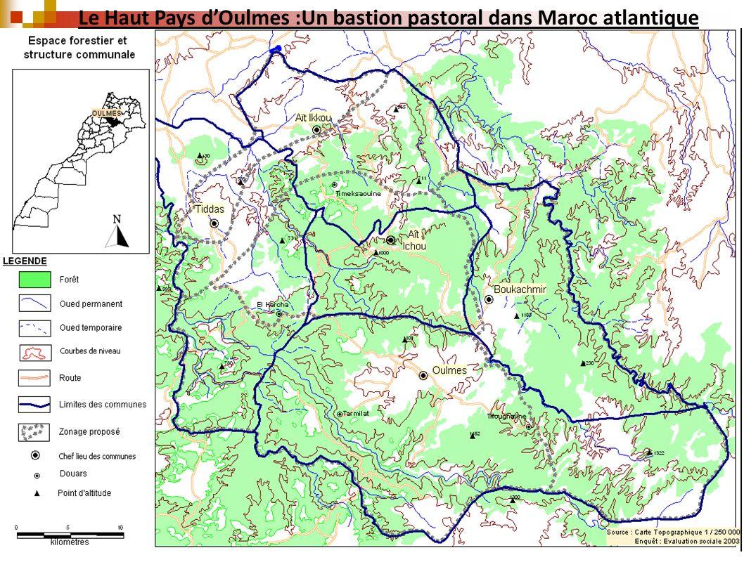 Le Haut Pays dOulmes :Un bastion pastoral dans Maroc atlantique