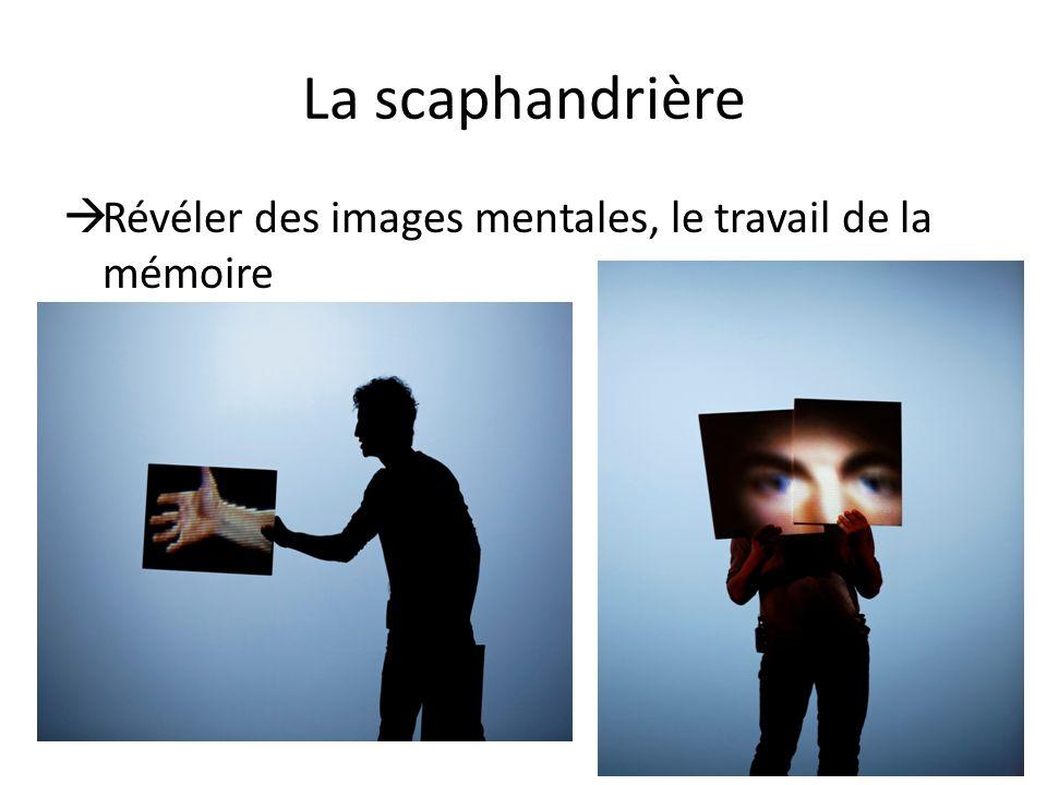 La scaphandrière Révéler des images mentales, le travail de la mémoire