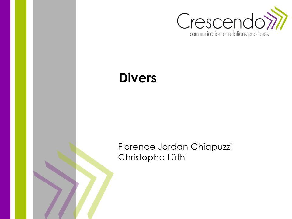 Florence Jordan Chiapuzzi Christophe Lüthi Divers