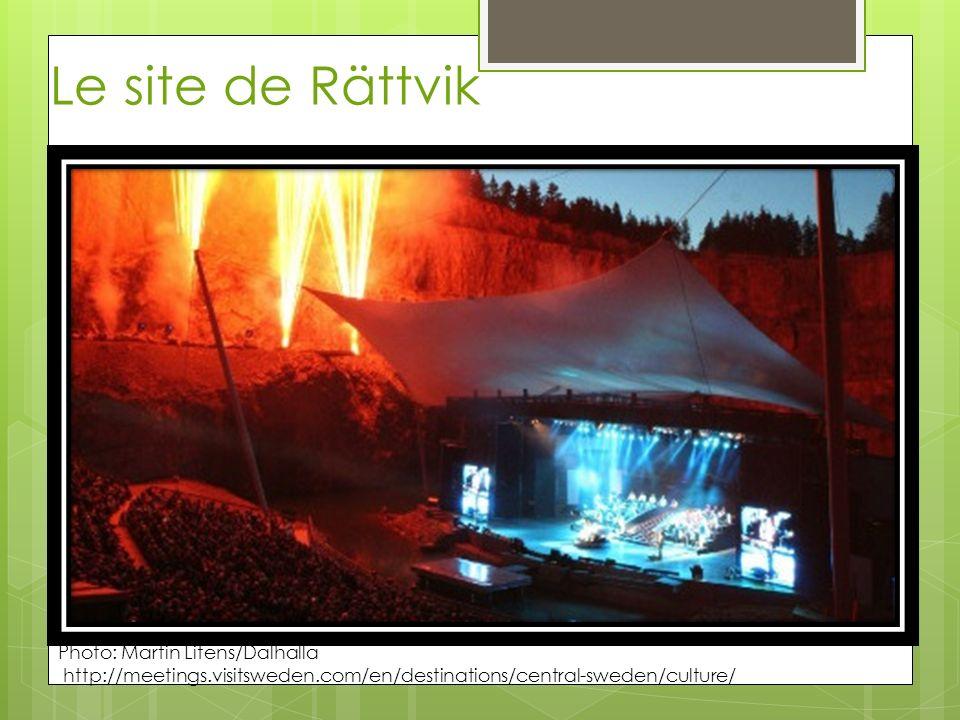 Le site de Rättvik Photo: Martin Litens/Dalhalla http://meetings.visitsweden.com/en/destinations/central-sweden/culture/