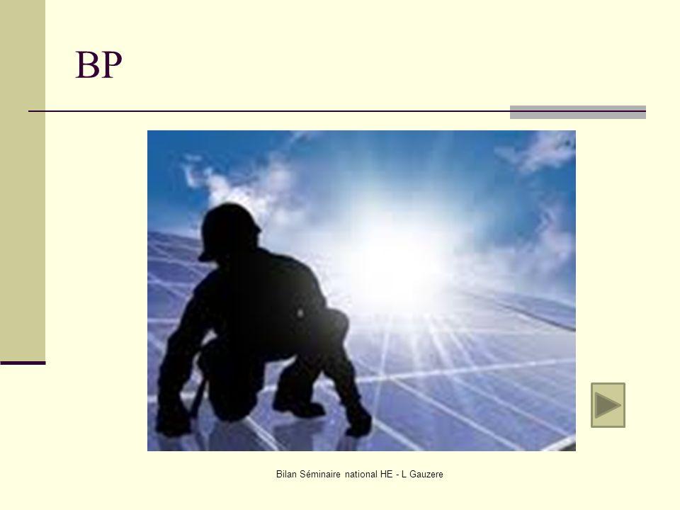 BP Bilan Séminaire national HE - L Gauzere
