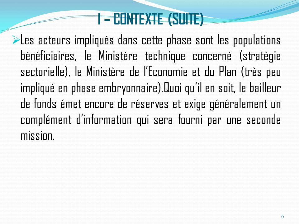 VI- CONCLUSION Au Tchad, la mobilisation, la budgétisation et le suivi de la gestion des ressources extérieures restent des étapes importantes dans le cadre délaboration du budget de lEtat et qui sont en quête dun processus de maturation.