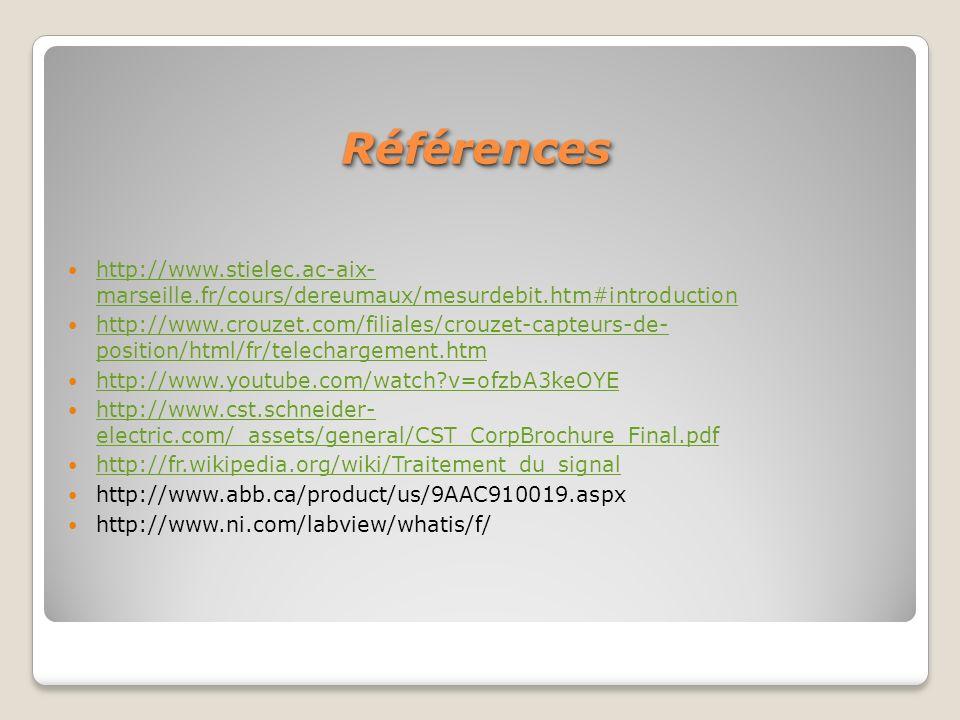 http://www.stielec.ac-aix- marseille.fr/cours/dereumaux/mesurdebit.htm#introduction http://www.stielec.ac-aix- marseille.fr/cours/dereumaux/mesurdebit