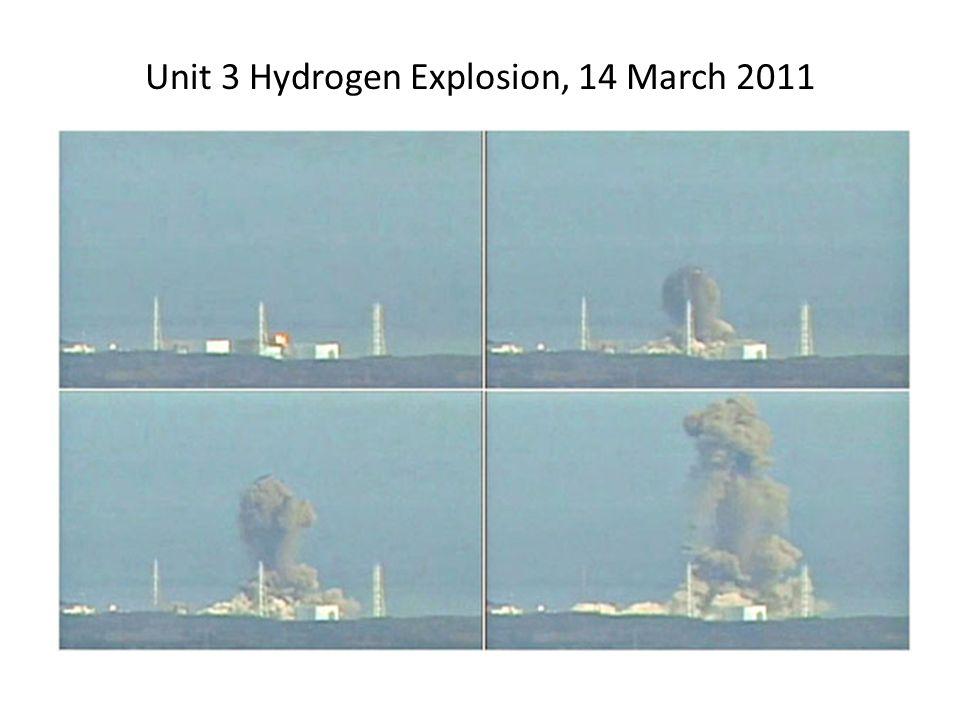 Unit 3 Hydrogen Explosion, 14 March 2011