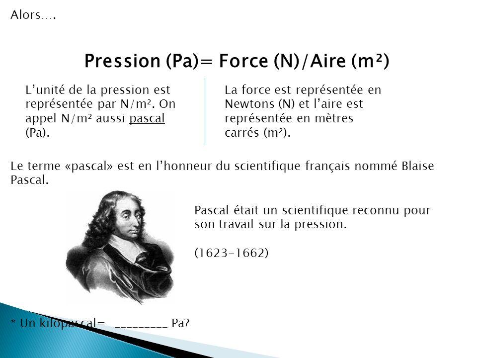Ce que nous savons déjà (suite)…. Comment trouver la mesure de la force exercée (poids)? La force de gravité sur Terre est: ______ N/kg (Tu peux larro