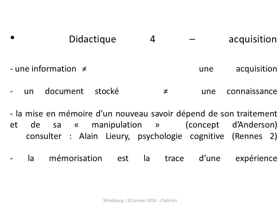 Didactique 5 : autonomisation 5 composantes - R.