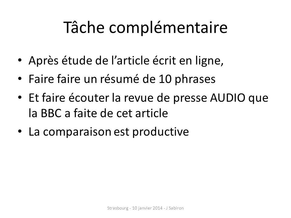 Rappel dun consensus didactique inter-langues Strasbourg - 10 janvier 2014 - J Sabiron