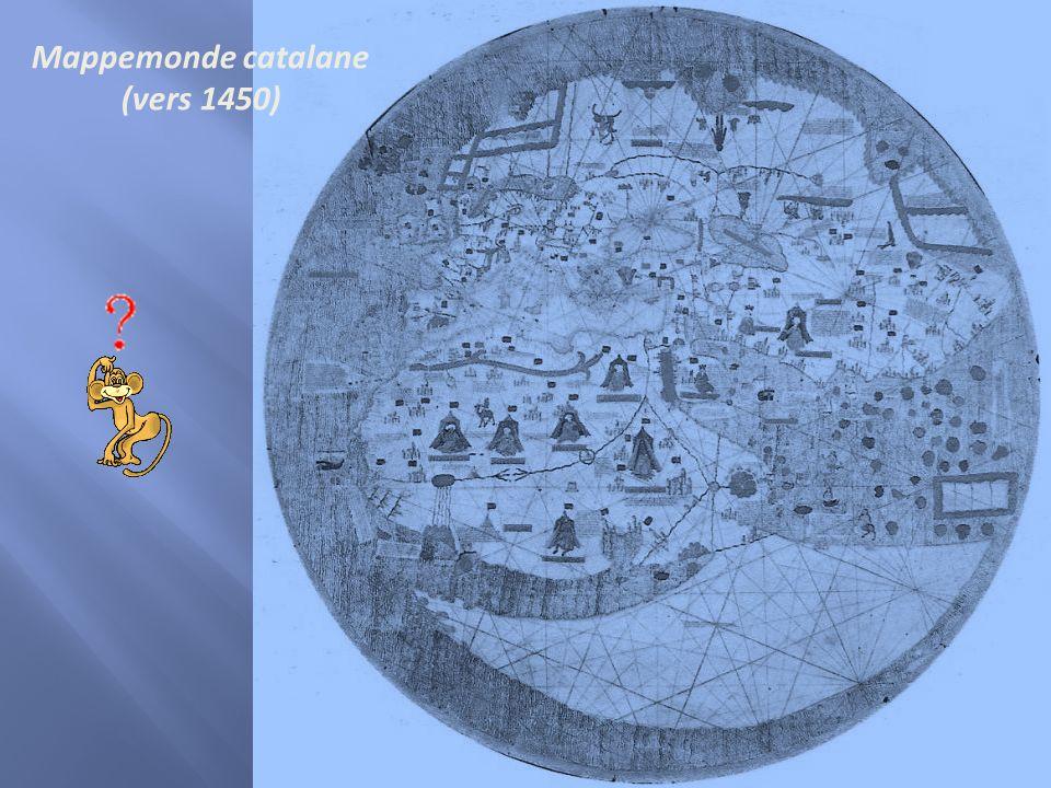 Mappemonde catalane (vers 1450)