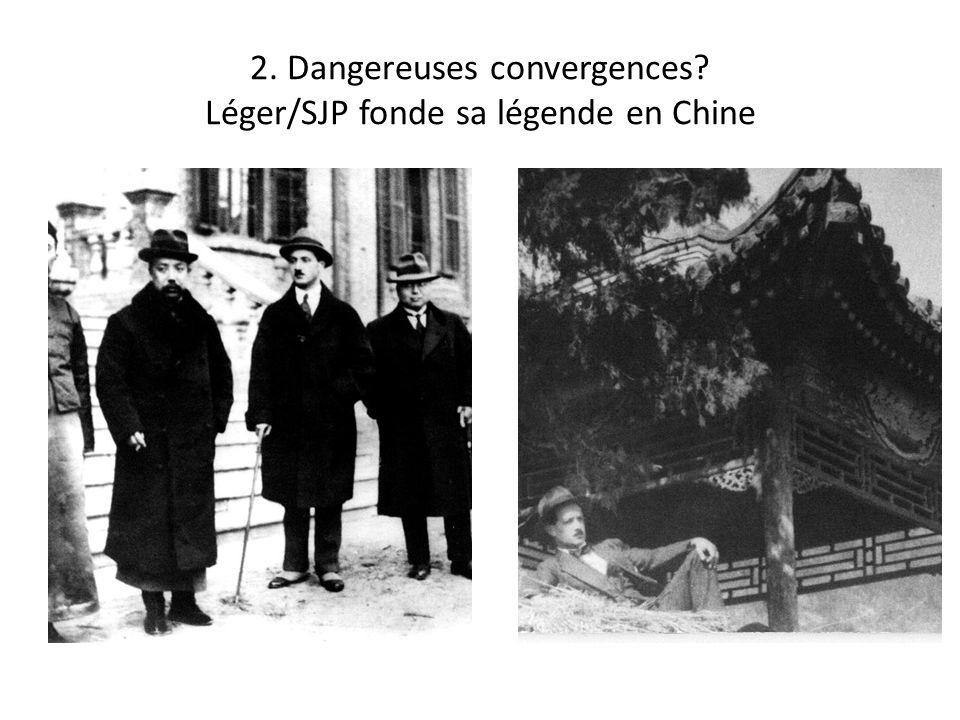 2. Dangereuses convergences? Léger/SJP fonde sa légende en Chine