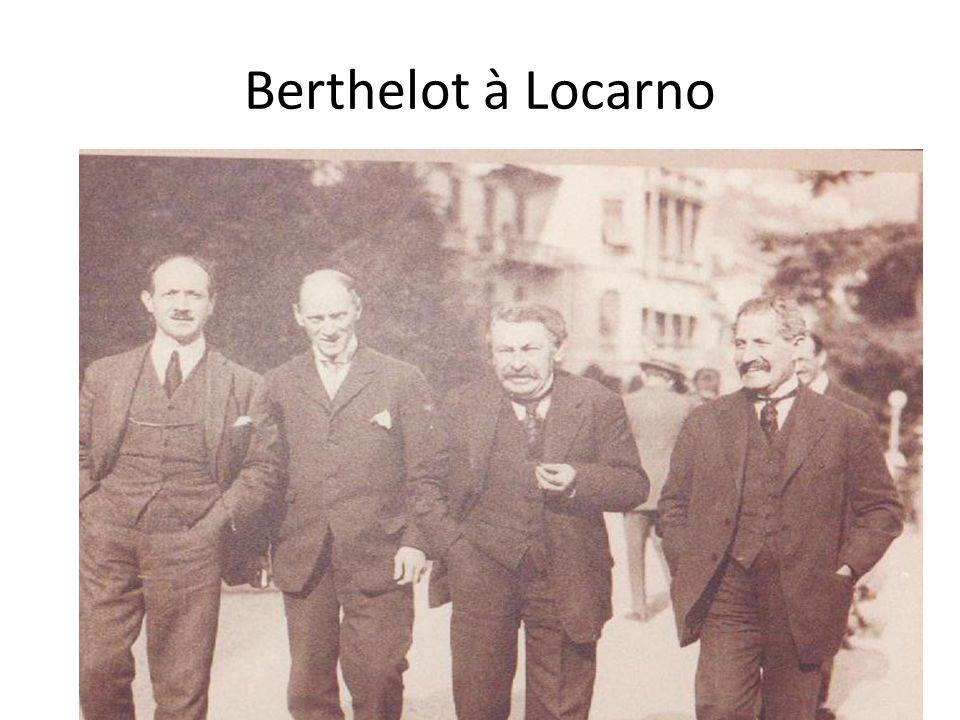 Berthelot à Locarno