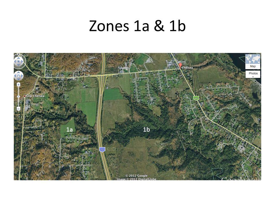 Zones 1a & 1b 1a1b