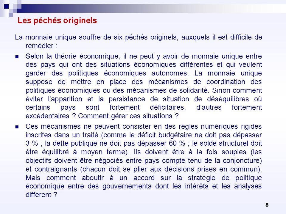89 Le Pacte Budgétaire (Traité pour la stabilité, la coordination et la gouvernance).
