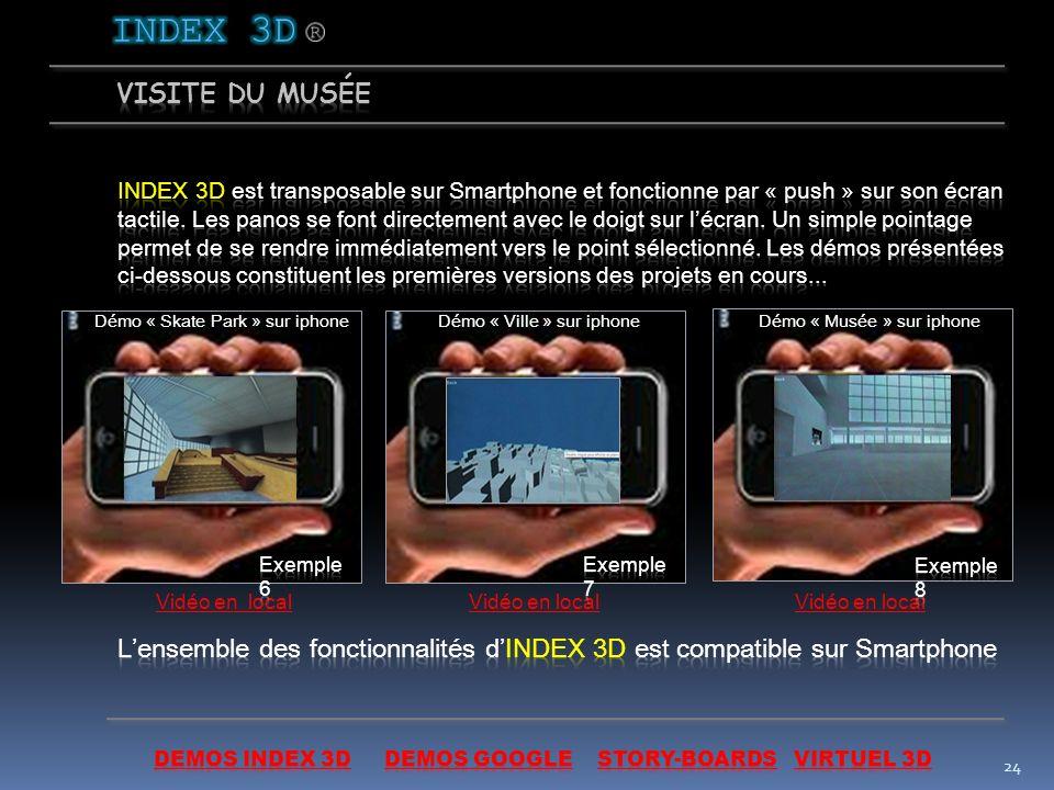 23 3. Audio-visio-guide (récupération des images créées pour le site) Story AVG a)
