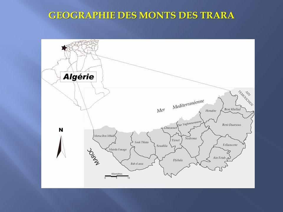 GEOGRAPHIE DES MONTS DES TRARA