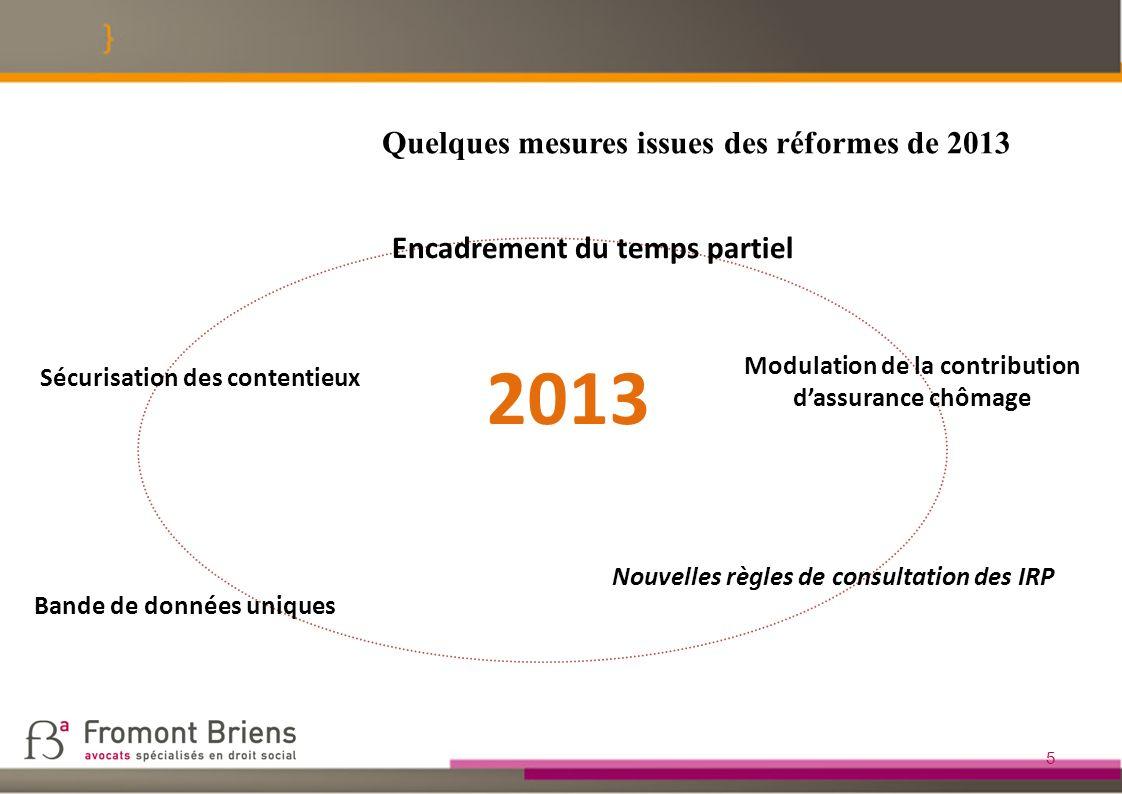 1.4 Nouvelles règles de consultation des IRP 26