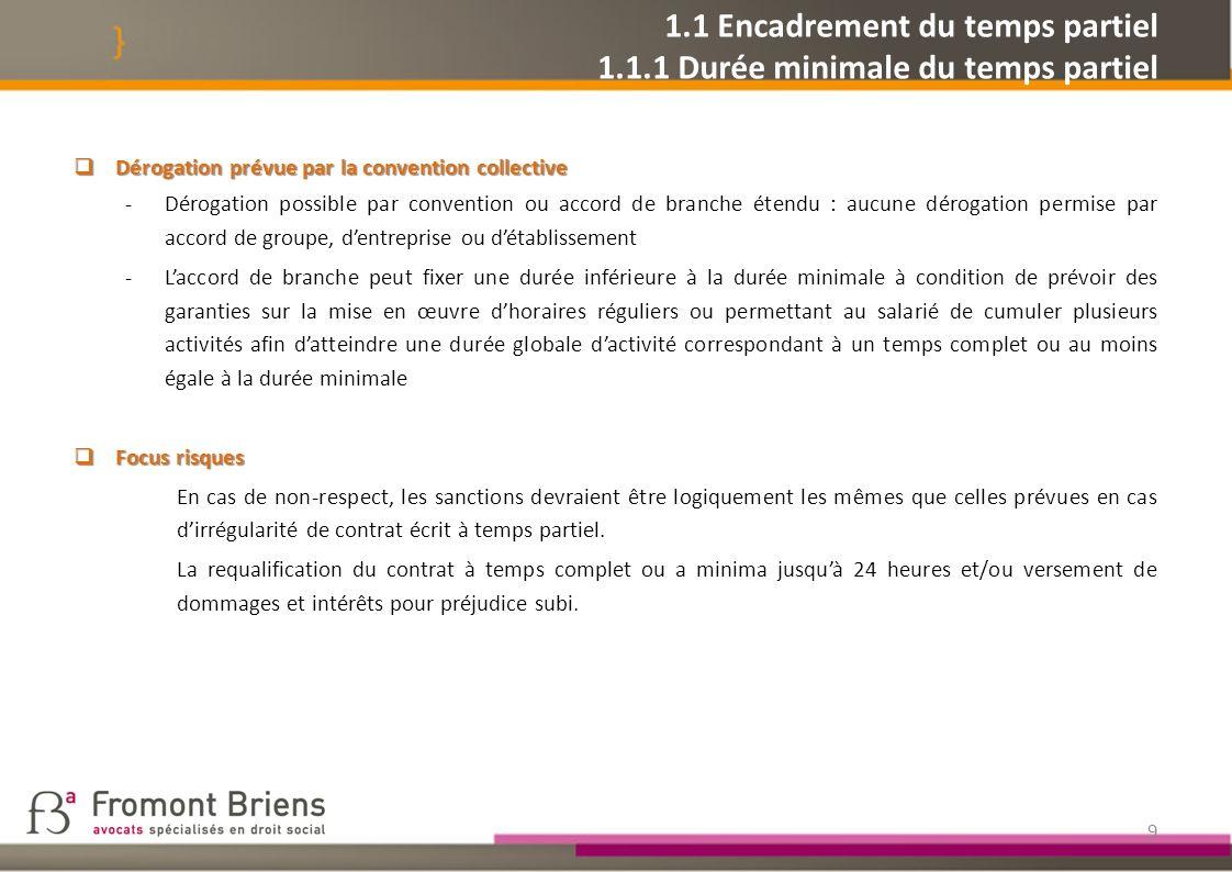 20 1.2 Modulation des cotisations dassurance chômage 1.2.2.