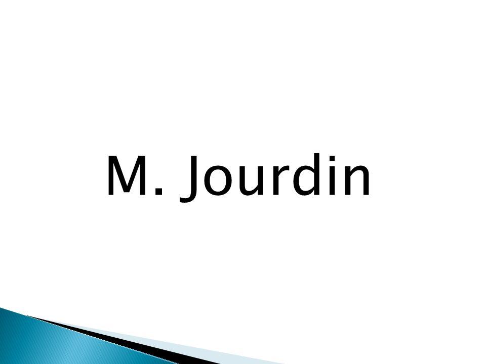 M. Jourdin