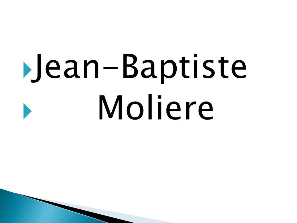 Jean-Baptiste Moliere
