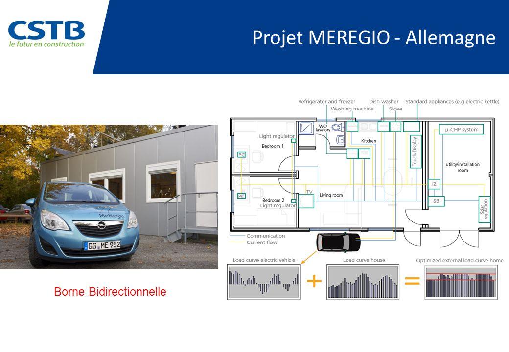 Projet MEREGIO - Allemagne Borne Bidirectionnelle