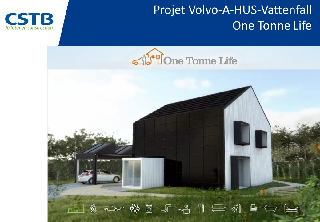 Projet Volvo-A-HUS-Vattenfall One Tonne Life