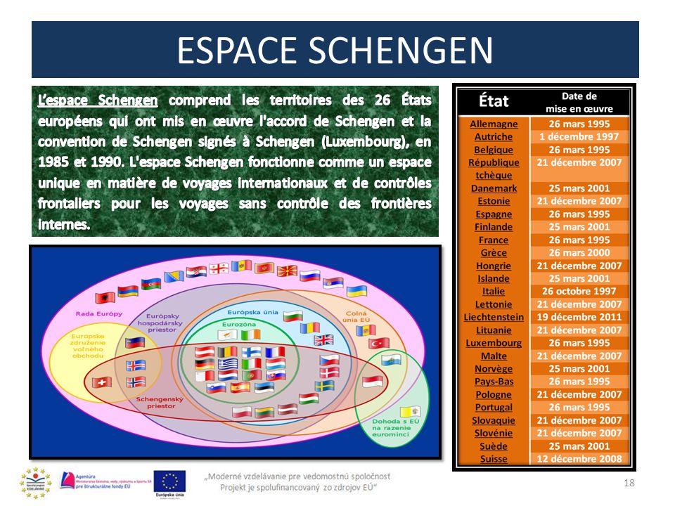 ESPACE SCHENGEN 18