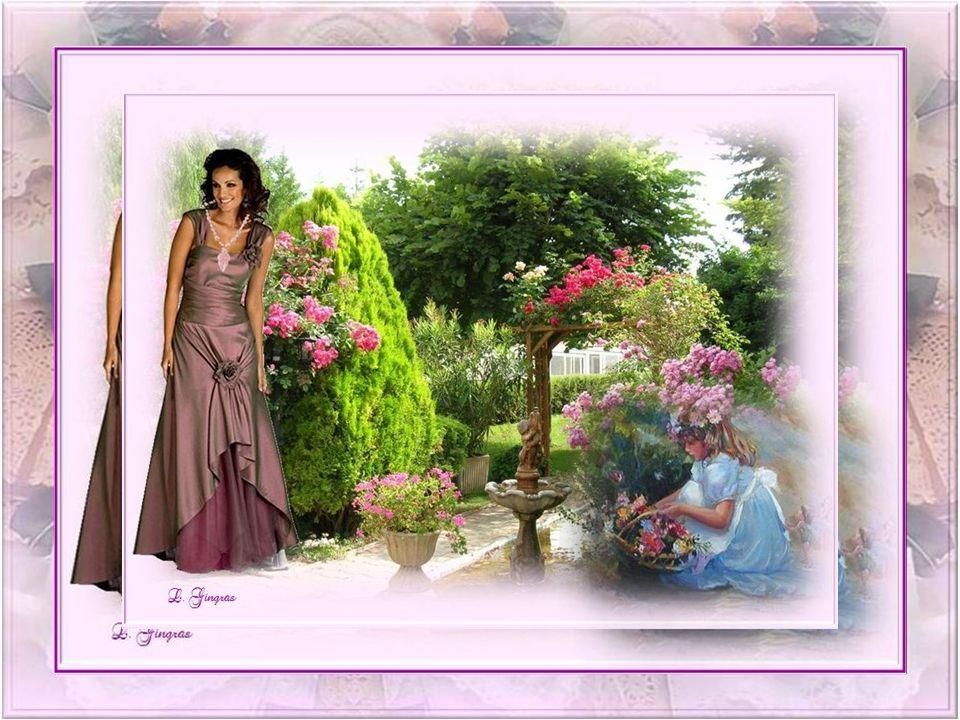 Sous lemprise de ton parfum, toi la vie, Jai su tapprivoiser et faire de toi une amie; Ce soir, dans le vent qui berce les fleurs, Dans lombre grise,
