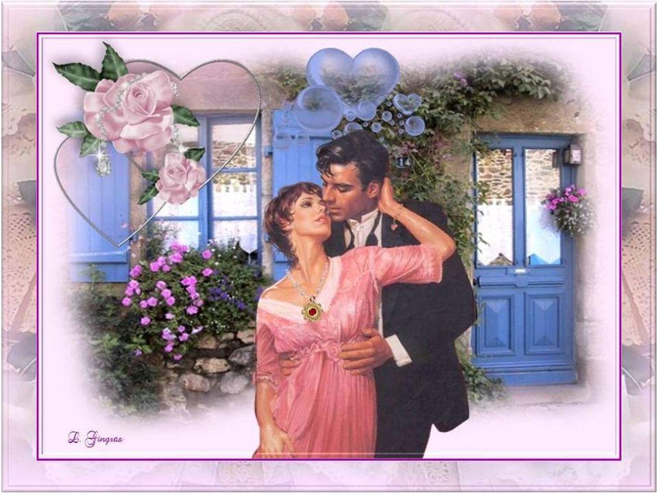 Un amour qui offre un grand bonheur, Avec un jardin fleuri au fond du cœur; Sur un immense sentier de sable roux, Je murmure, ce soir, quelques mots d
