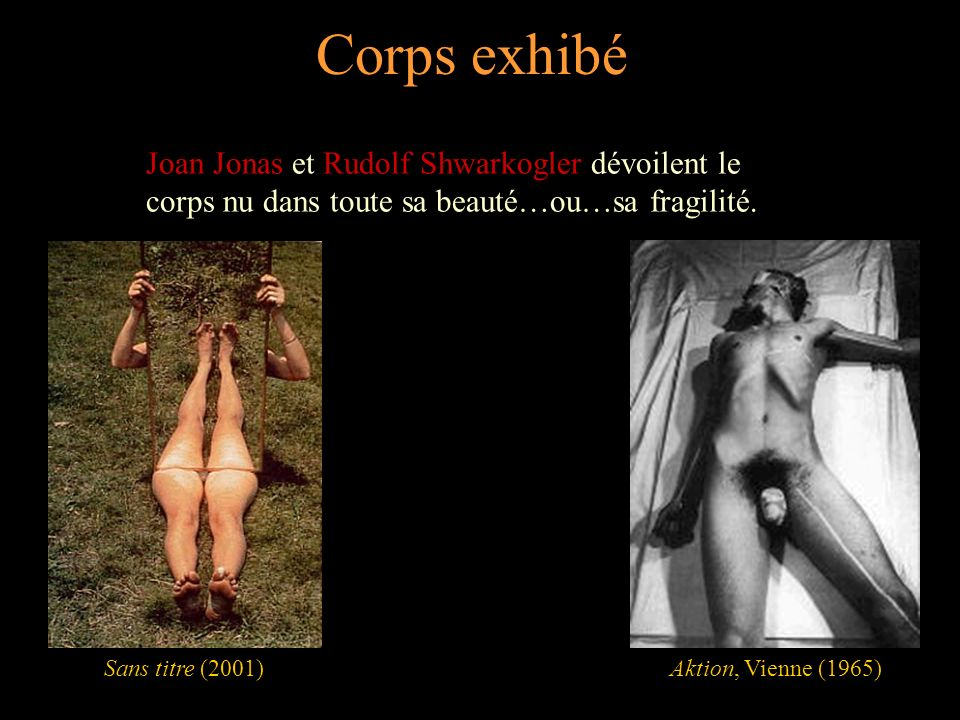 Corps travesti Michel Journiac et Lily Tomlin jouent sur la représentation identitaire et sexuelle.