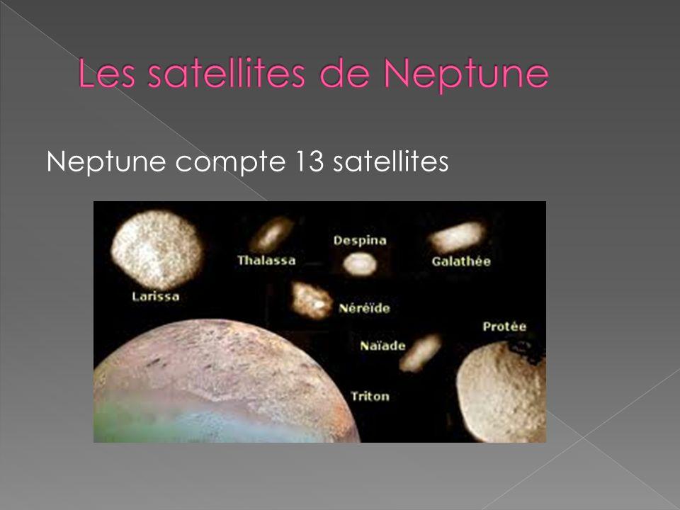 Neptune compte 13 satellites