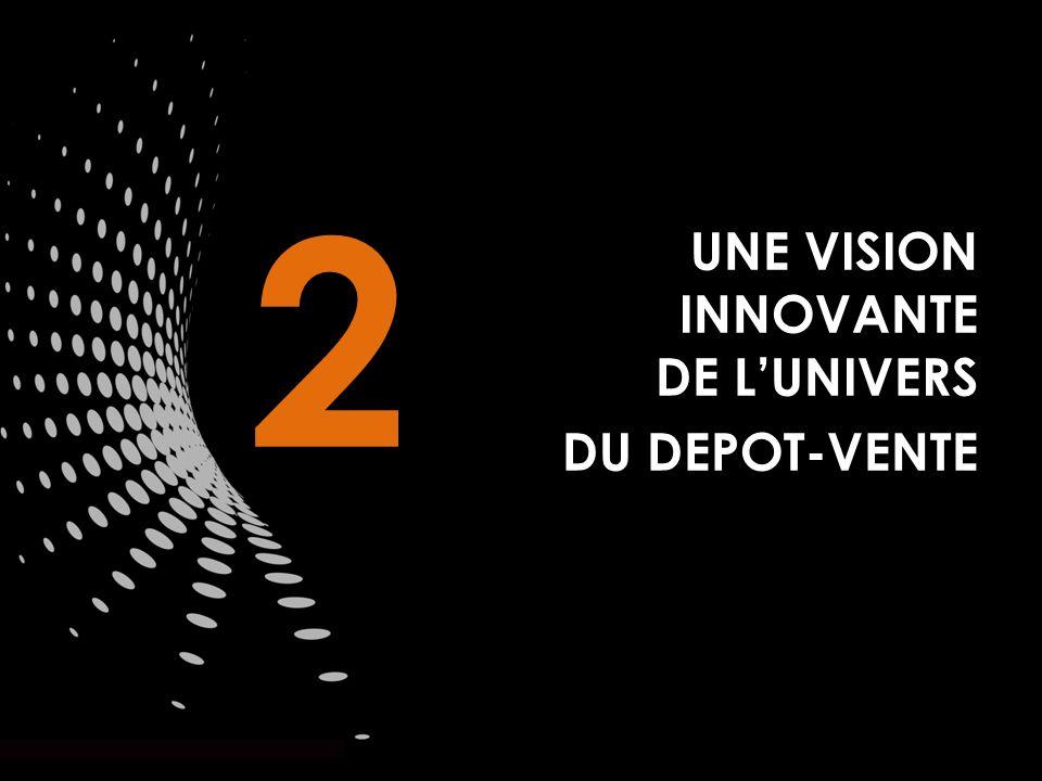UNE VISION INNOVANTE DE LUNIVERS DU DEPOT-VENTE 2