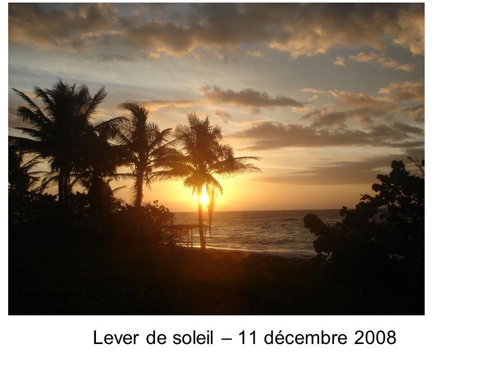 Lever de soleil – 11 décembre 2008