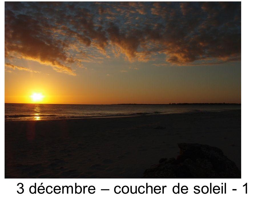 3 décembre – coucher de soleil - 1