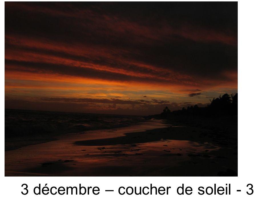 3 décembre – coucher de soleil - 3