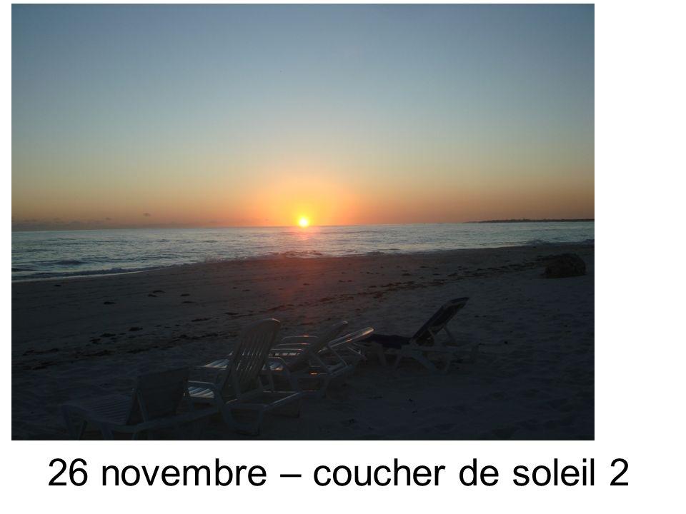 26 novembre – coucher de soleil 2