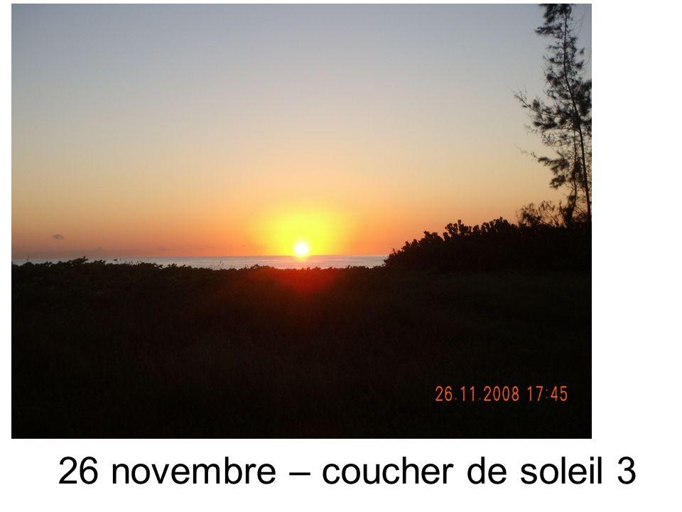 26 novembre – coucher de soleil 3