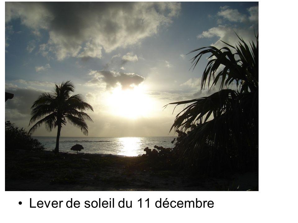 Lever de soleil du 11 décembre
