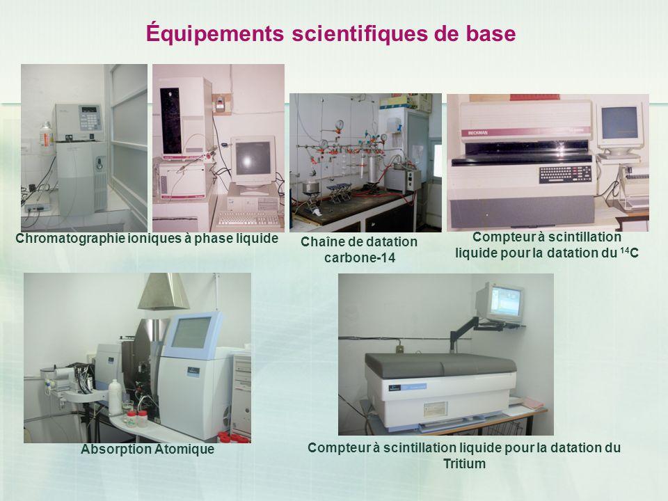 Équipements scientifiques de base Chromatographie ioniques à phase liquide Chaîne de datation carbone-14 Compteur à scintillation liquide pour la data