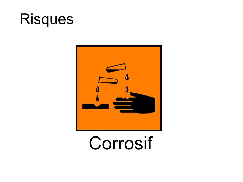Corrosif Risques