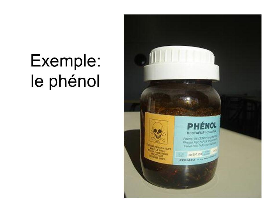 Exemple: le phénol