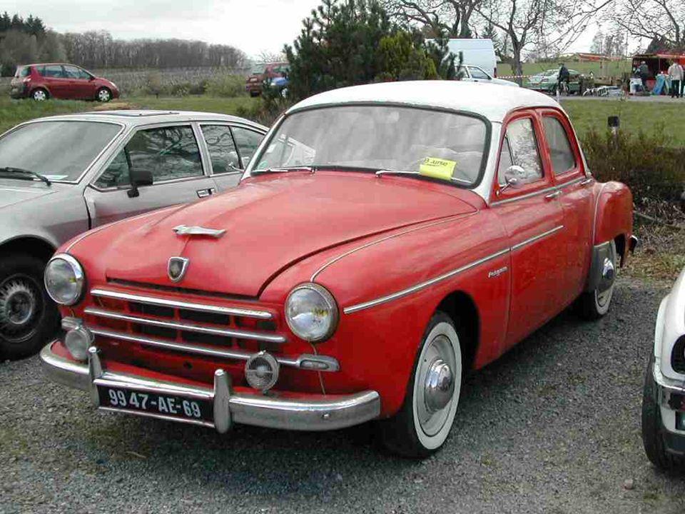 4 et 5 - RENAULT « Frégate » présentée en 1950 et produite jusquen 1960.
