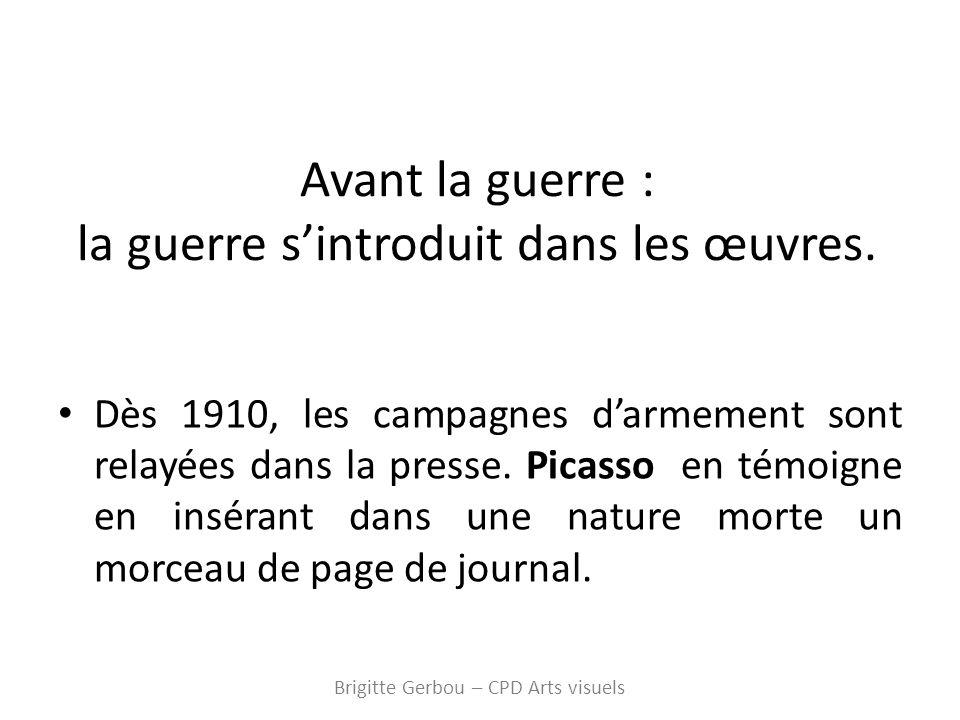 Pablo Picasso – Nature morte à la guitare - 1912 Brigitte Gerbou – CPD Arts visuels