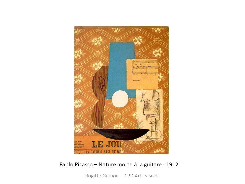 A partir de 1914 Brigitte Gerbou – CPD Arts visuels