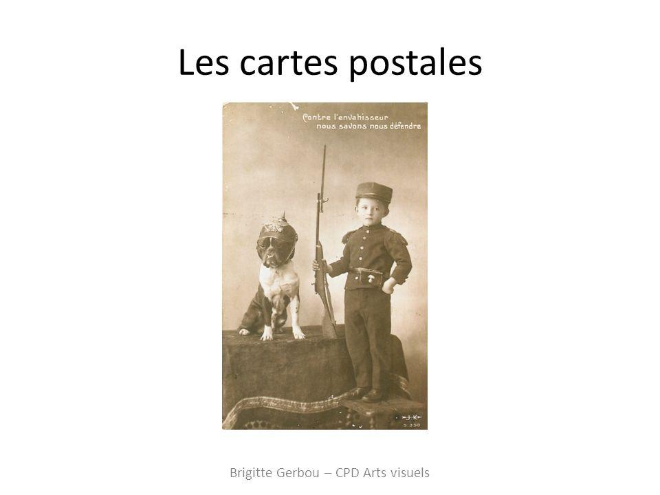 Les cartes postales Brigitte Gerbou – CPD Arts visuels
