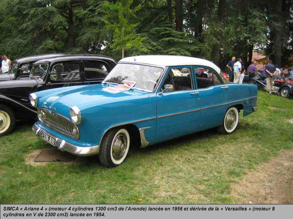 CITROEN « DS 19 » Cette auto, toujours en avance sur les voitures actuelles, représente le génie français.