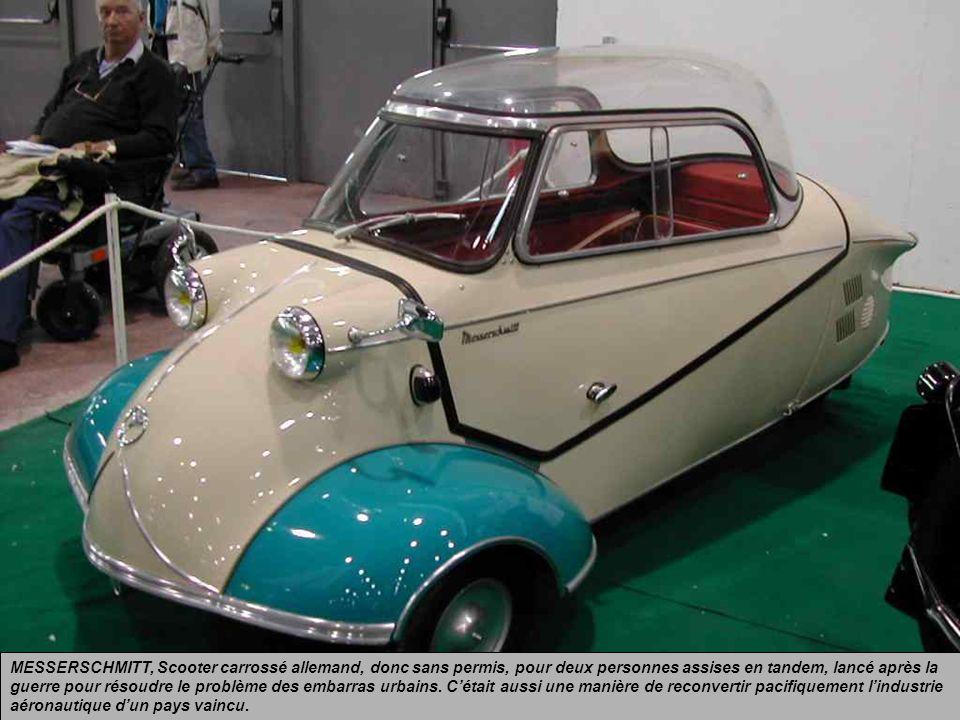 FIAT « 500 », Un petit moteur arrière bicylindre refroidi par air de 13 chevaux permettait datteindre les… 85 km/h avec deux adultes à lavant et deux