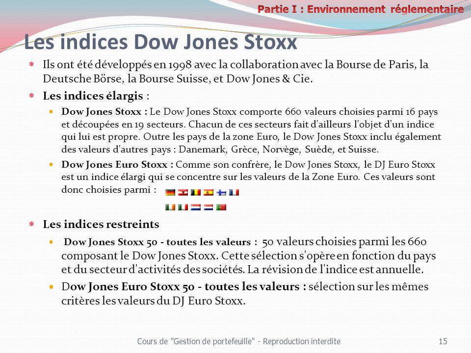 Les indices Dow Jones Stoxx Ils ont été développés en 1998 avec la collaboration avec la Bourse de Paris, la Deutsche Börse, la Bourse Suisse, et Dow