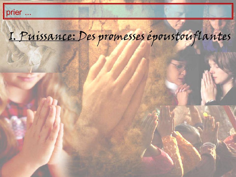 I Puissance, II Signification: Prier « au nom de Jésus » nest pas une formule, signifie le « représenter parfaitement », a pour objectif de glorifier Dieu « Et tout de que vous demanderez en mon nom, je le ferais, afin que le Père soit glorifié dans le Fils.